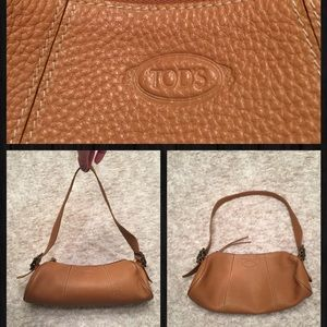 Tod's Tan Leather Small Shoulder Bag